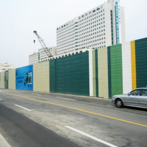 Temporary Noise Barrier Panel