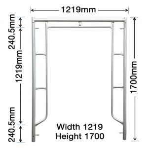 GH102 1700mm x 1219mm Vertical Frame