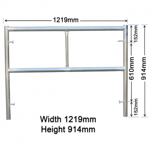 GH105 914mm x 1219mm Adjusting Frame