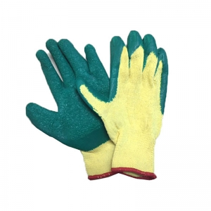 Heavy Duty Cotton with Latex Safety Gloves